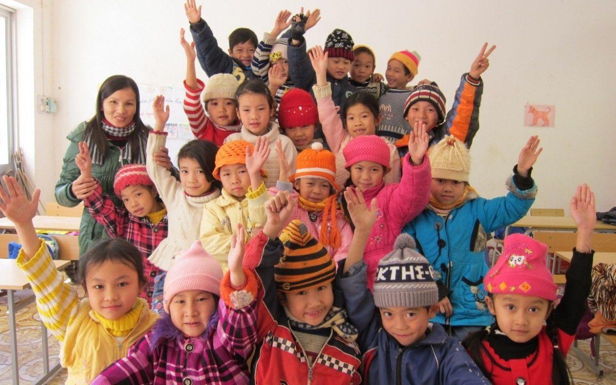 Trẻ em mẫu giáo Cao Bang